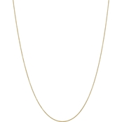 14K Yellow Gold .9mm Cable Chain with Spring Ring 18 in.