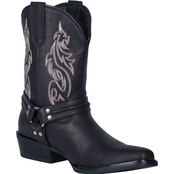 Dingo Men's Dragon Pull On Mid Calf Boots