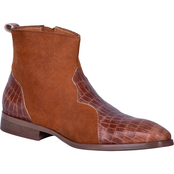 Dingo Men's Dunn Side Zip Ankle Boots