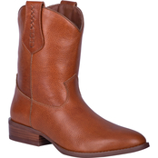 Dingo Men's Lefty Pull On Mid Calf Boots
