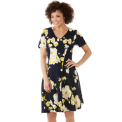 Robbie Bee Fit and Flare Dress