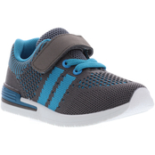 Oomphies Boys Wynn Knit Athletic Sneakers