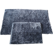 Chesapeake Merchandising Shiny Noodle 2 pc. Bath Rug Set