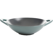 Cravings by Chrissy Teigen 12-Inch Enamel Cast Iron Wok