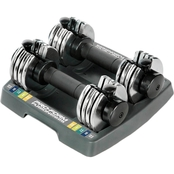 ProForm Fitness 12.5 lb. Select A Weight Dumbbell Set