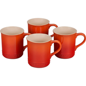 Le Creuset 4 pc. Mugs Set