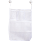 Kenney Four Pocket Hanging Mesh Suction Shower Organization Caddy