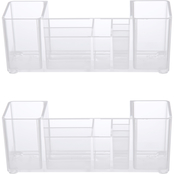 Kenney Storage Made Simple Bathroom Countertop 8 Compartment Organizer 2 pk.