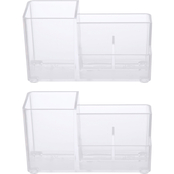 Kenney Storage Made Simple Bathroom Countertop 4 Compartment Organizer 2 pk.