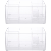 Kenney Storage Made Simple 8 Compartment Drawer Organizer Bin, Set of 2