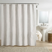 Realeza Ella European Matelasse Shower Curtain