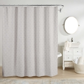 Realeza Bogart European Matelasse Shower Curtain