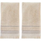 Saturday Knight LTD Jude Fringe Hand Towel 2 pk.