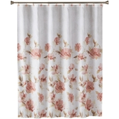 Saturday Knight LTD Misty Floral Fabric Shower Curtain