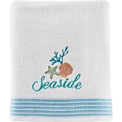 Saturday Knight LTD South Seas Bath Towel in White