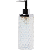 Saturday Knight LTD Frosted Lotion / Soap Dispenser in Frosty
