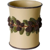 Saturday Knight LTD Pinehaven Resin Wastebasket