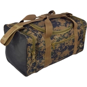 Flying Circle Square Sports Duffel