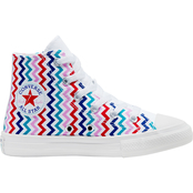 Converse Grade School Girls Chuck Taylor All Star High Top Shoes