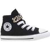 Converse Toddler Girls Chuck Taylor 1V High Top Shoes