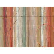 Trademark Fine Art Lisa Audit Spiced II Wood Slat Art