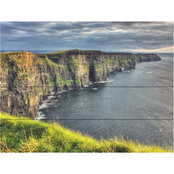 Trademark Fine Art Pierre Leclerc Cliffs of Moher Ireland Wood Slat Art
