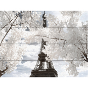 Trademark Fine Art Philippe Hugonnard Another Look at Paris IV Wood Slat Art
