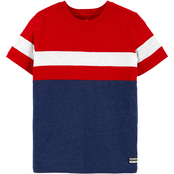 OshKosh B'gosh Little Boys Colorblock Active Tee