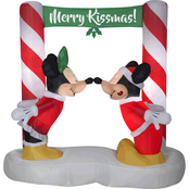 Disney Airblown Inflatable Mickey and Minnie Kissing Scene