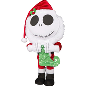 Disney Jack Skellington with Stocking Holiday Greeter