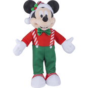 Disney Mickey Mouse as Cute Elf Holiday Greeter