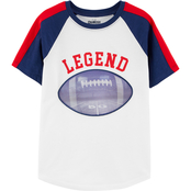 OshKosh B'gosh Little Boys Football Action Graphic Tee