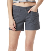 Unionbay Juniors Darcy 5 in. Solid Shorts