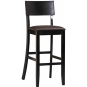 Linon Torino Collection Contemporary Bar Stool