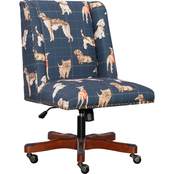 Linon Draper Dog Office Chair