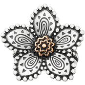 James Avery Beaded Festive Flower Ring