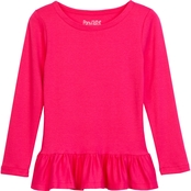 Pony Tails Girls Tunic Length Top in Cotton Knit