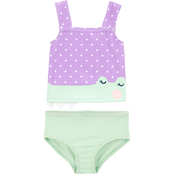 Carter's Infant Girls Alligator 2 pc. Tankini Set