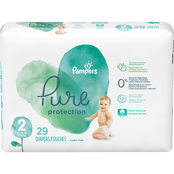 Pampers Pure Protection Diapers Size 2 (12-18 lb.) 29 ct.