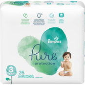 Pampers Pure Protection Diapers Size 3 (16-28 lb.) 26 ct.