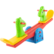 Hey! Play! Colorful Animal Seesaw with Easy Grip Handles