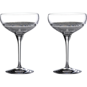 Waterford Mixology Circon Large 10.6 oz. Coupe 2 pk.