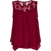 JW Lace Trim Tunic