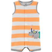 Carter's Infant Boys Hippo Snap Up Romper