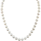 14K Yellow Gold 18 in. 9 x 9.5mm Freshwater Cultured Pearl Necklace