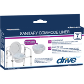 Drive Medical Commode Liners, 7 pk.