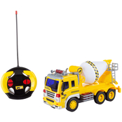 Hey! Play! Remote Control Cement Mixer Truck