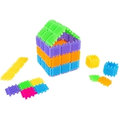 Hey! Play! Brush Shape 182 pc. Tile Building Set