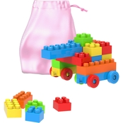 Hey! Play! Building Blocks Classic 90 pc. Set with Storage Bag