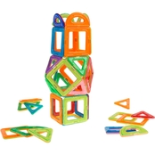 Hey! Play! Magnetic Tile Toy 40 pc. Set